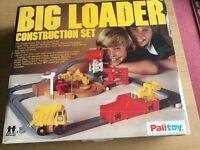 Vintage Tomy Big Loader Construction Set with working motor. 1977.