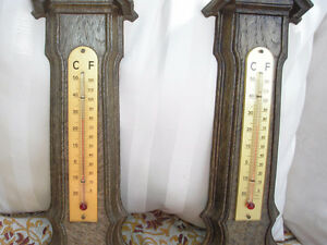 Pair of Vintage Fisher Barometers/Thermometers Made in France. Kitchener / Waterloo Kitchener Area image 3