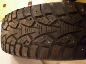Studded winter tires 185/65R15