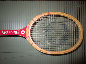 vintage tennis racket from Tracy Austin (Spalding)