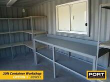 Custom Made Workshops built from new Shipping Containers Adelaide CBD Adelaide City Preview