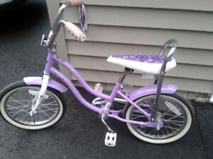 girl's bike  for 5-6 year old