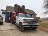 Furnace cleaning with high cfm furnace truck