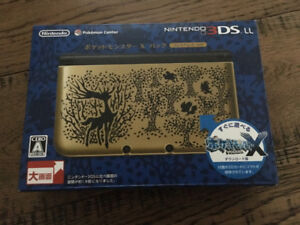 Nintendo 3DS LL Pokemon X/Y Japan Gold Edition (Used)