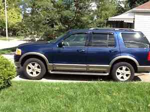 2004 Ford Explorer Eddy Bauer SUV, Crossover