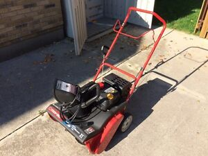 Squall 2100 Single Stage Snow Thrower
