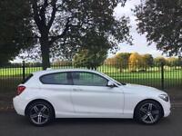2013 62 BMW 1 SERIES 1.6 116I SPORT 3D AUTO 135 BHP