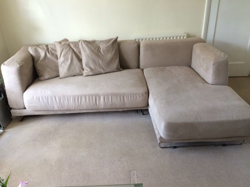 Ikea Tyl 246 Sand 3 Seater Sofa Chaise Long In Worcester
