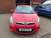 HYUNDAI i20 COMFORT £30 TAX ONLY 64k MILES 6 STAMP IN BOOK ALLOYS BLUETOOTH 2011