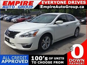 2015 NISSAN ALTIMA SV * REAR CAM * SUNROOF * LOW KM