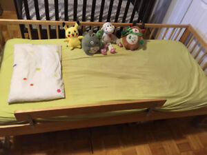 Full size Bed with quality mattress Great for a growing child