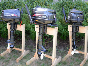 New 5HP and 6HP 4 Stroke Small Outboard Motors