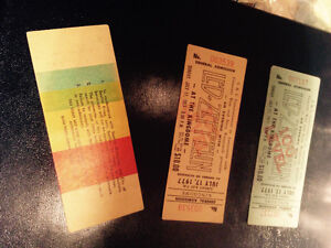 """Highly collectible LED ZEPPELIN tickets from July 17""""77 Seattle"""