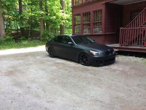 BMW 545i SMG II 2005 noir