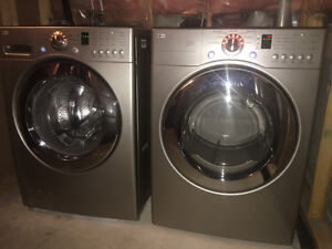 Almost brand new washer / dryer for sale!