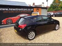 VAUXHALL ASTRA 1.6 EXCLUSIV, Black, Manual, Petrol, 2010