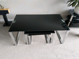 Modern set of tables