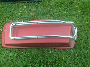 Harley road king  right side saddlebag lid