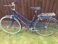 Vintage ladies elswick bicycle for spares repair or restoration