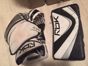 RBK 6k senior blocker/glove