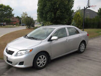 2010 Toyota Corolla CE Sedan - No Accidents
