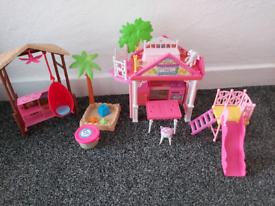 Chelsea playset treehouse barbie