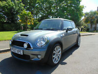 Lovely 2007 Mini 1.6 Cooper S Drives Beautifully Superb Condition Long MOT