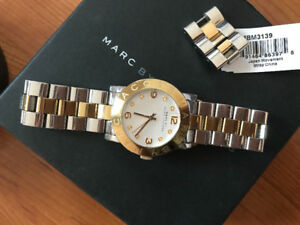 Marc Jacob two tone wrist watch