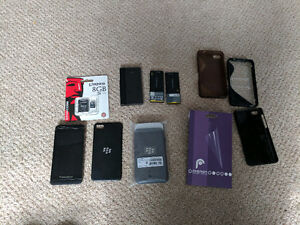 Mint condition blackberry z10 with 3 batteries plus accessories