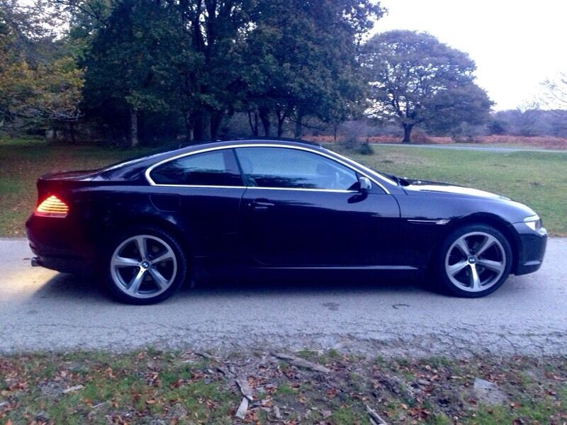 bmw 630i coupe in plymouth devon gumtree. Black Bedroom Furniture Sets. Home Design Ideas