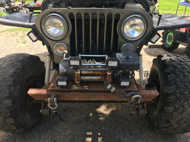 1981 Jeep cj7 lifted on 1 tons!! Trade????   Dirt Bikes