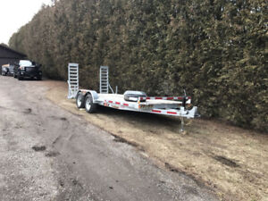 7X18 Car Hauler For Rent