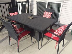 GREAT CONDITION!!! OUTDOOR TABLE AND CHAIRS SET