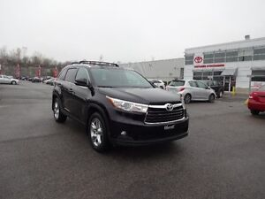 Toyota Highlander AWD Limited MAGS TOIT GPS 2014