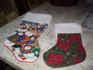 CHRISTMAS QUILTED STOCKINGS