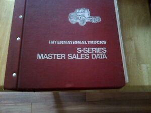 Ford, International Harvester manuals, brochures, spec sheets