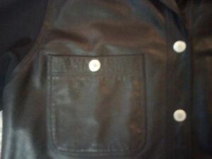 Men's Medium Netu/Neto Made in Canada Leather/Poly Jacket Prince George British Columbia image 4