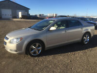 2010 chevrolet malibu 85000 km fully loaded leather inspected