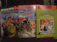 LEVEL 2 and 3 READING BOOKS FOR CHILDREN 6 Books Excellent Shape