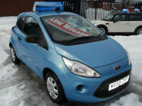 Ford Ka 1.2 2009 Studio ONLY £30 PER YEAR ROAD TAX , LOW INSURANCE GROUP