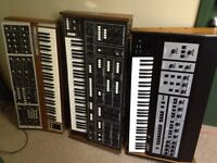 Vintage Synthesizer for sale