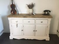 Shabby chic solid old dresser