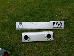 Jeep wrangler front and rear bumper cover