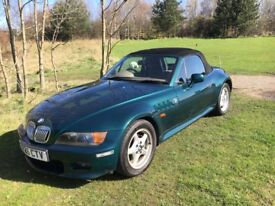 Bmw Z3 convertable 2.8, manual, widebody, low miles service history