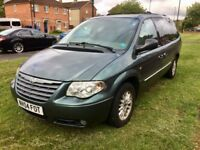DEISEL 7 SEATER. DVD. TV. SAT NAV. LEATHER. TOW BAR AND MORE.