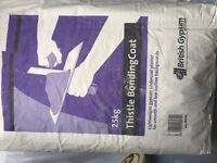 1 full bag + half bag Thistle Bonding Coat Plaster
