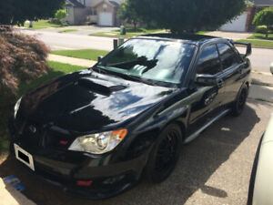 The legendary Hawkeye STi (2007 STi OBP)