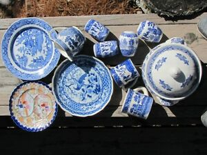 Blue Japan Collectible China