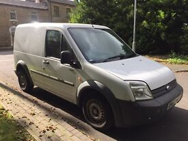 Ford transit connect swb 1.8 tdci 59 plate 123.000 miles 12 months mot