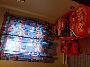 Disney cars full bedroom toddler set!  *like NEW*